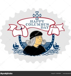 portrait of christopher columbus a stylized drawing of a hand the celebration of columbus [ 1600 x 1498 Pixel ]
