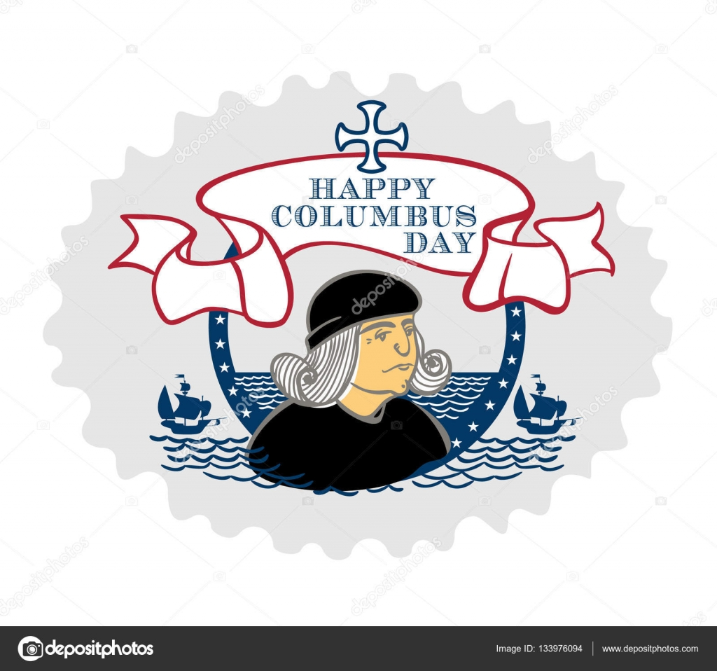 hight resolution of portrait of christopher columbus a stylized drawing of a hand the celebration of columbus