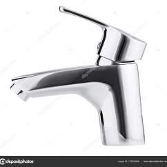 Bath And Kitchen Cabinets Showroom 混频器冷热水 现代水龙头的浴室 厨房的水龙头 我 图库照片