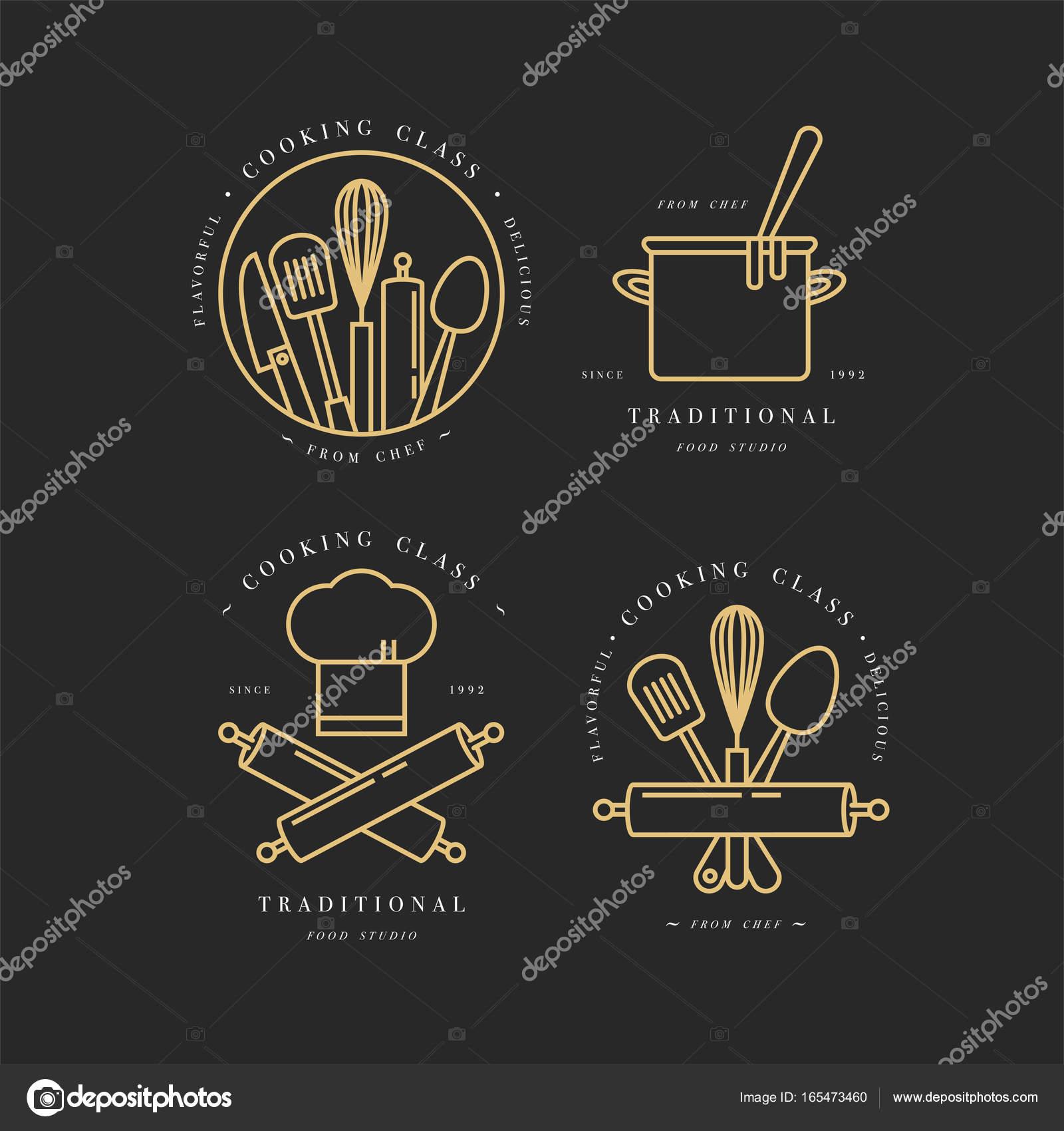 kitchen signs for work countertop soap dispenser 烹饪类线性设计元素 厨房标志 符号 图标或食品工作室标签和徽章 图标或食品工作室