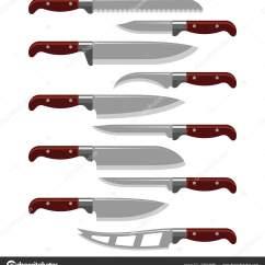 Sharp Kitchen Knives Home Depot Door Hardware 厨房刀武器钢锋利的匕首金属军事危险金属剑矢量图 图库矢量图像 图库