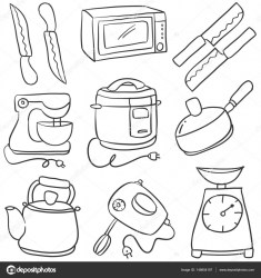 Animados Utensilios Cocina Para Colorear Novocom top