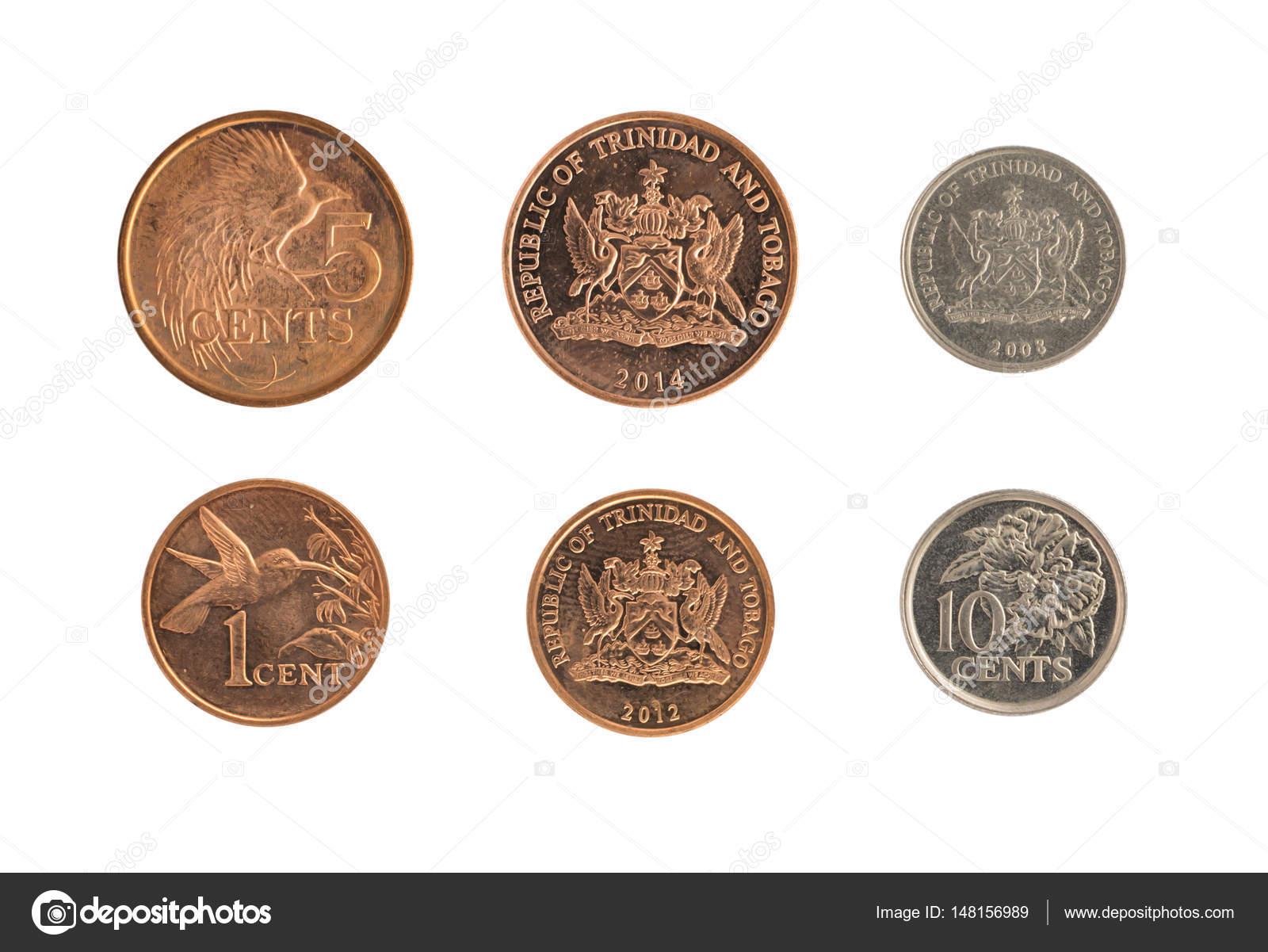 Monedas De Trinidad Y Tobago Que Representa El Emblema