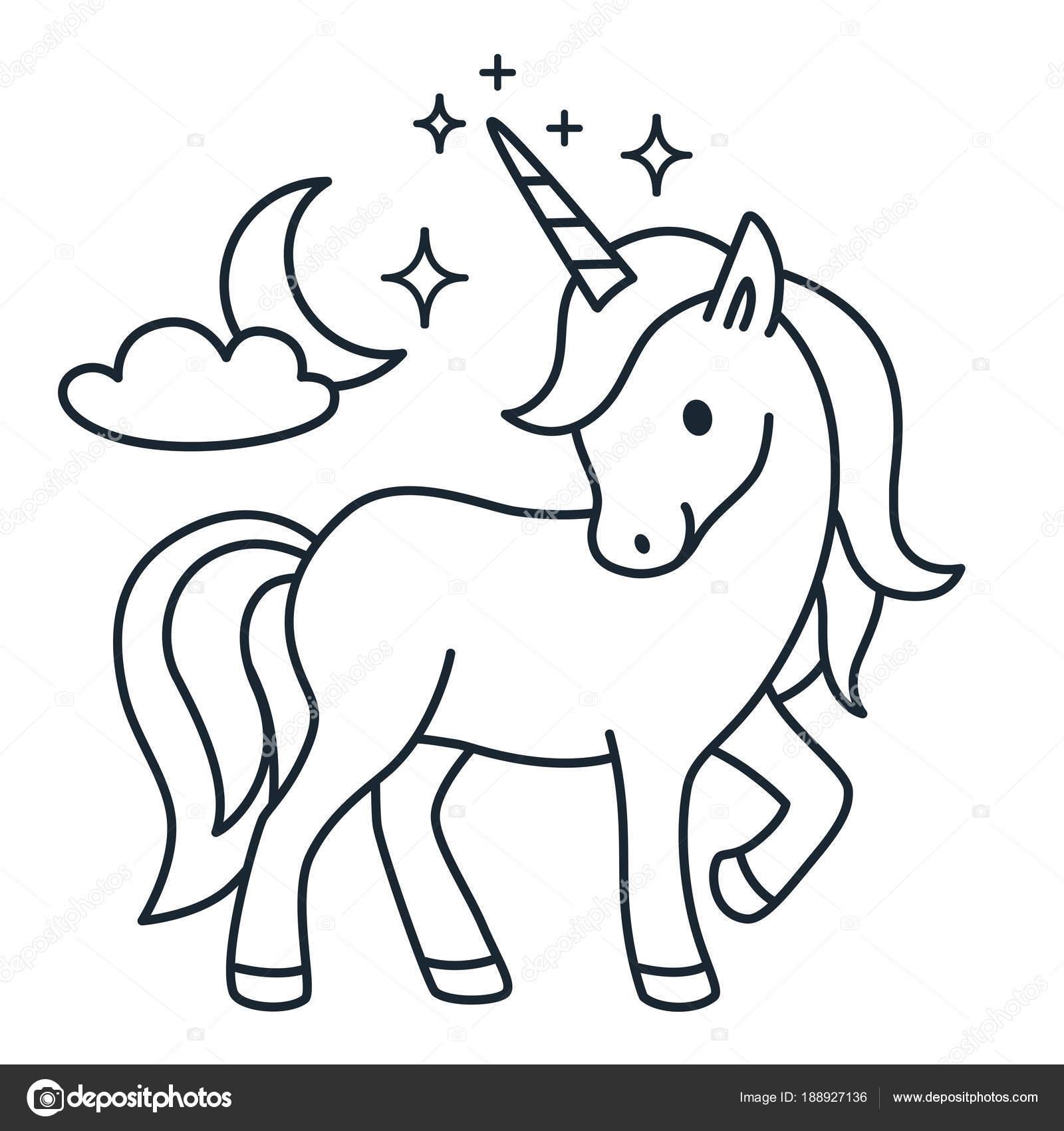 Dibujos Animados De Unicornios Para Dibujar