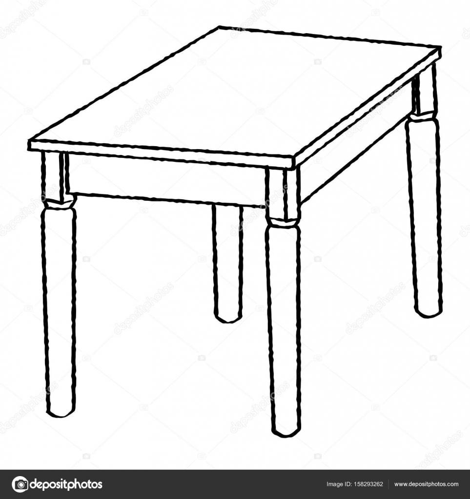 Dessin au trait de Tableligne Simple vecteur  Image vectorielle dcliner07gmailcom  158293262