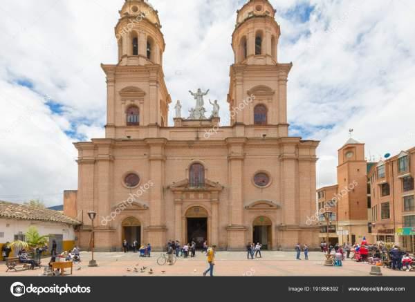 San juan de pasto capital de colombia templo catedral de
