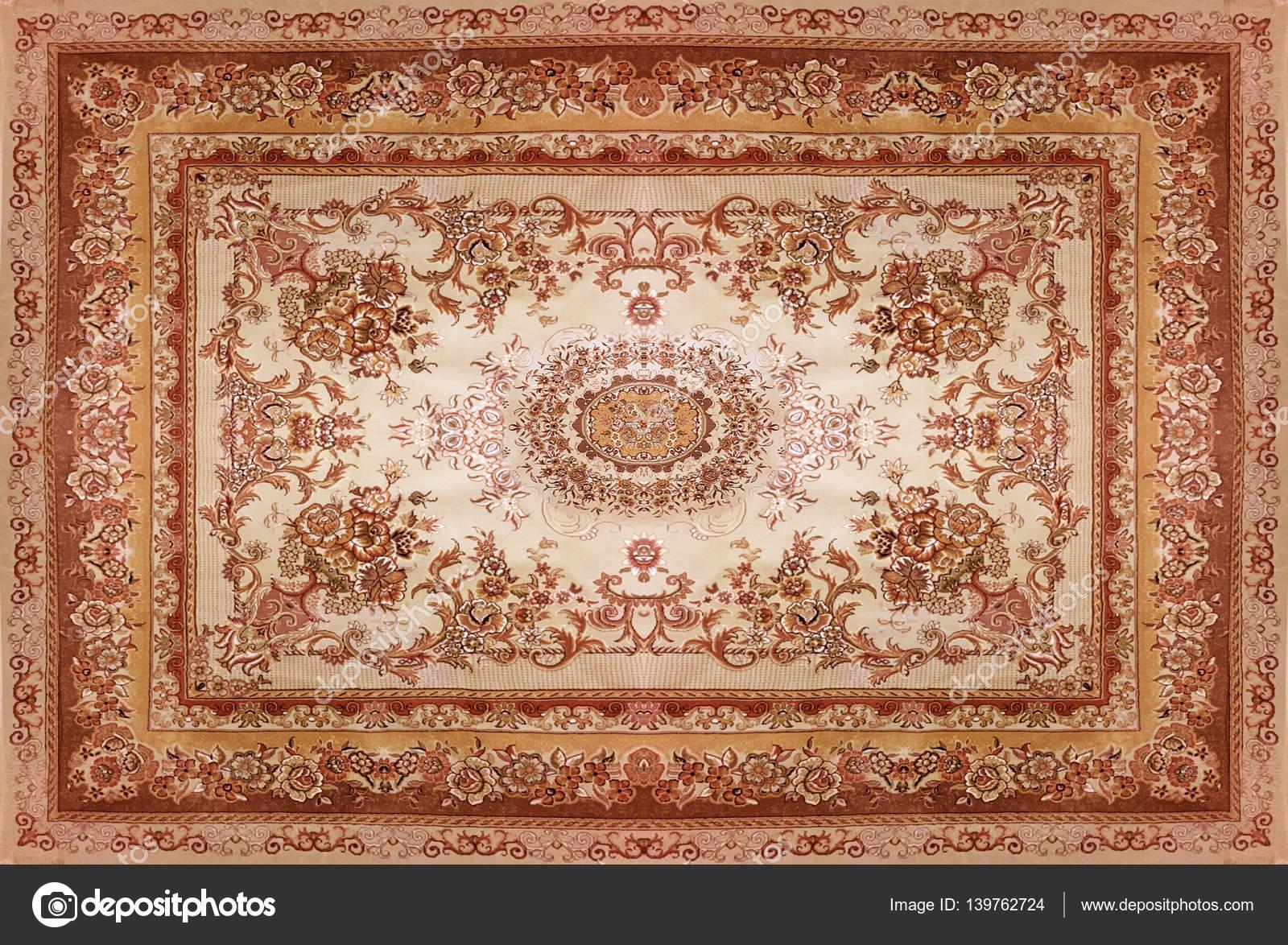 textura de la alfombra persa ornamento abstracto patron