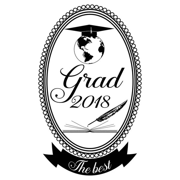 2018 graduation Stock Vectors, Royalty Free 2018