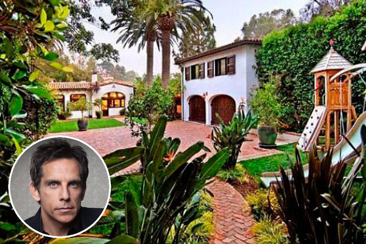 Casas de famosos Ben Stiller ofrece su casa de estilo