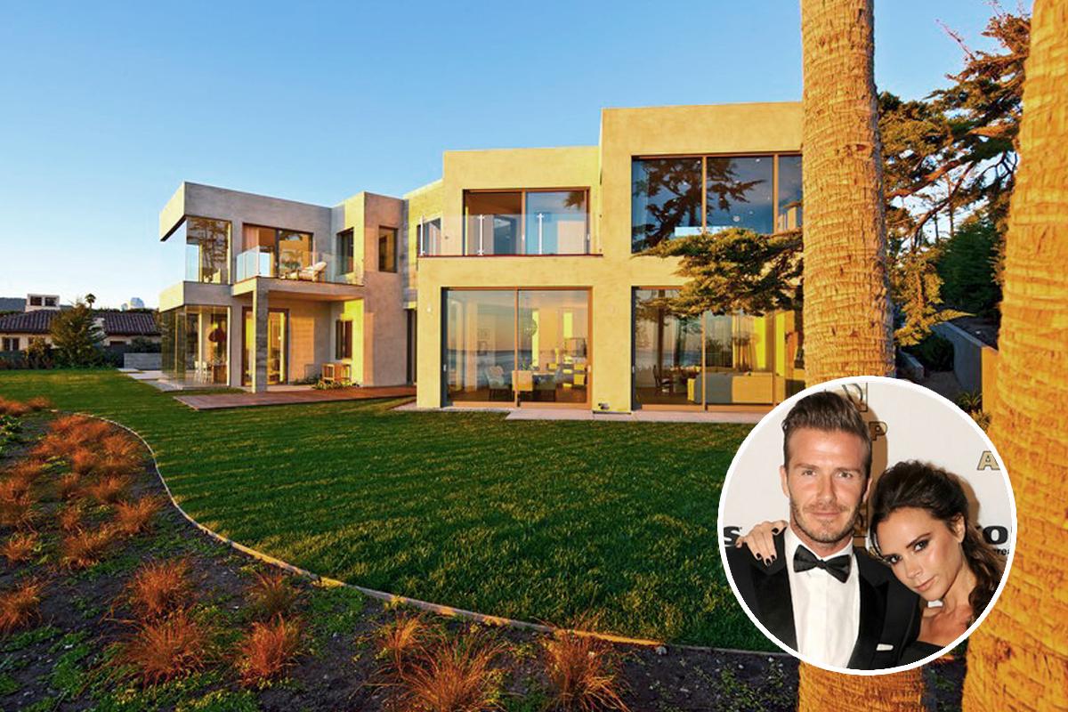 Casas de famosos la villa de veraneo de los Beckham en