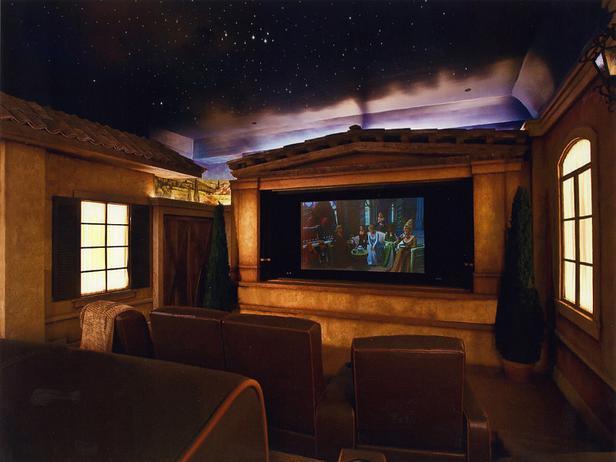 Las ideas ms extravagantes para hacer un cine en casa de la cueva de batman a una villa francesa fotos y vdeos  idealistanews