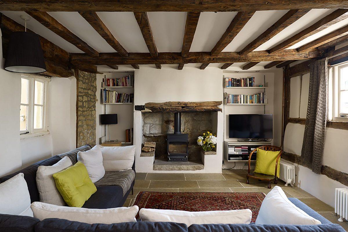 Casas de ensueo el espectacular lifting de una casa de pueblo del siglo XVII  idealistanews