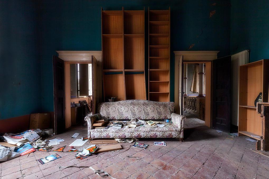 Mansiones abandonadas entre la belleza y el terror