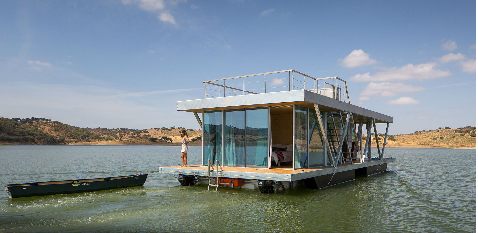 Casas Flotantes Autosuficientes De Lujo Una Alternativa