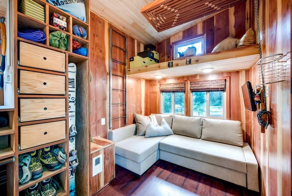 Esto s es aprovechar el espacio una minicasa de 18 m2