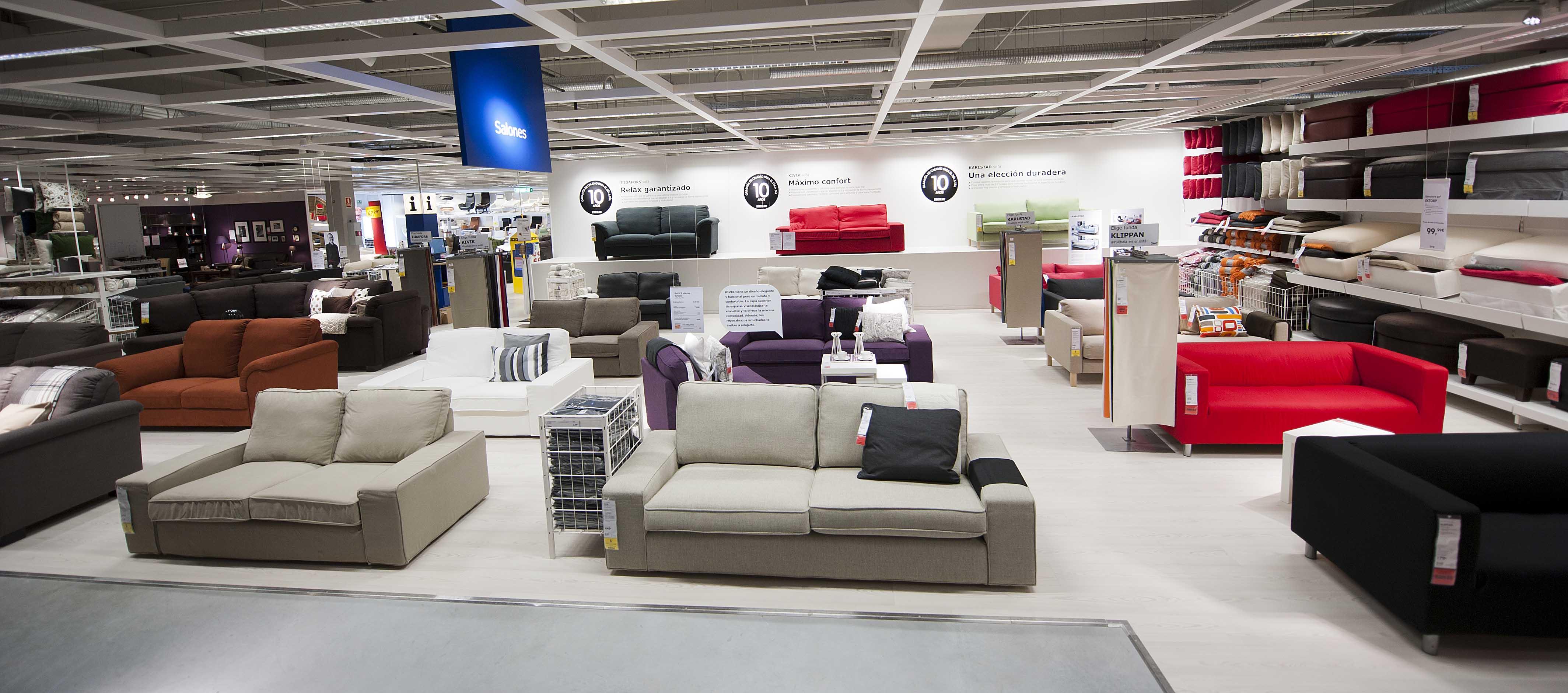 tiendas sofas madrid sur sofa tables with chairs ikea redecora su negocio se abre a la venta de segunda