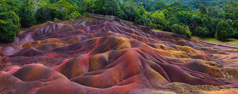 La tierra de los 7 colores, Chamarel, Islas Mauricio