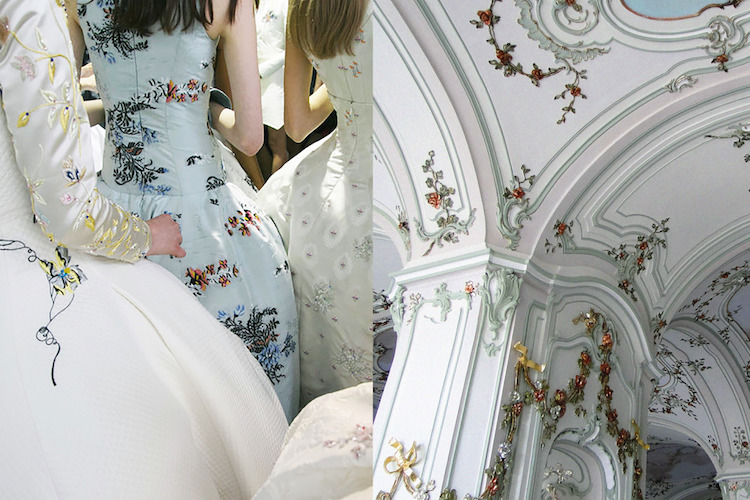 Dior Haute Couture Fall 2014 | Interior del Palacio Esterhazy en Fertöd