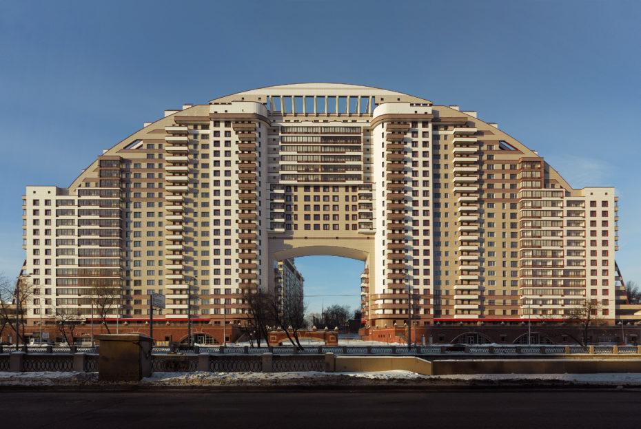 El Arco del Sol en Moscú /  Frank Herfort