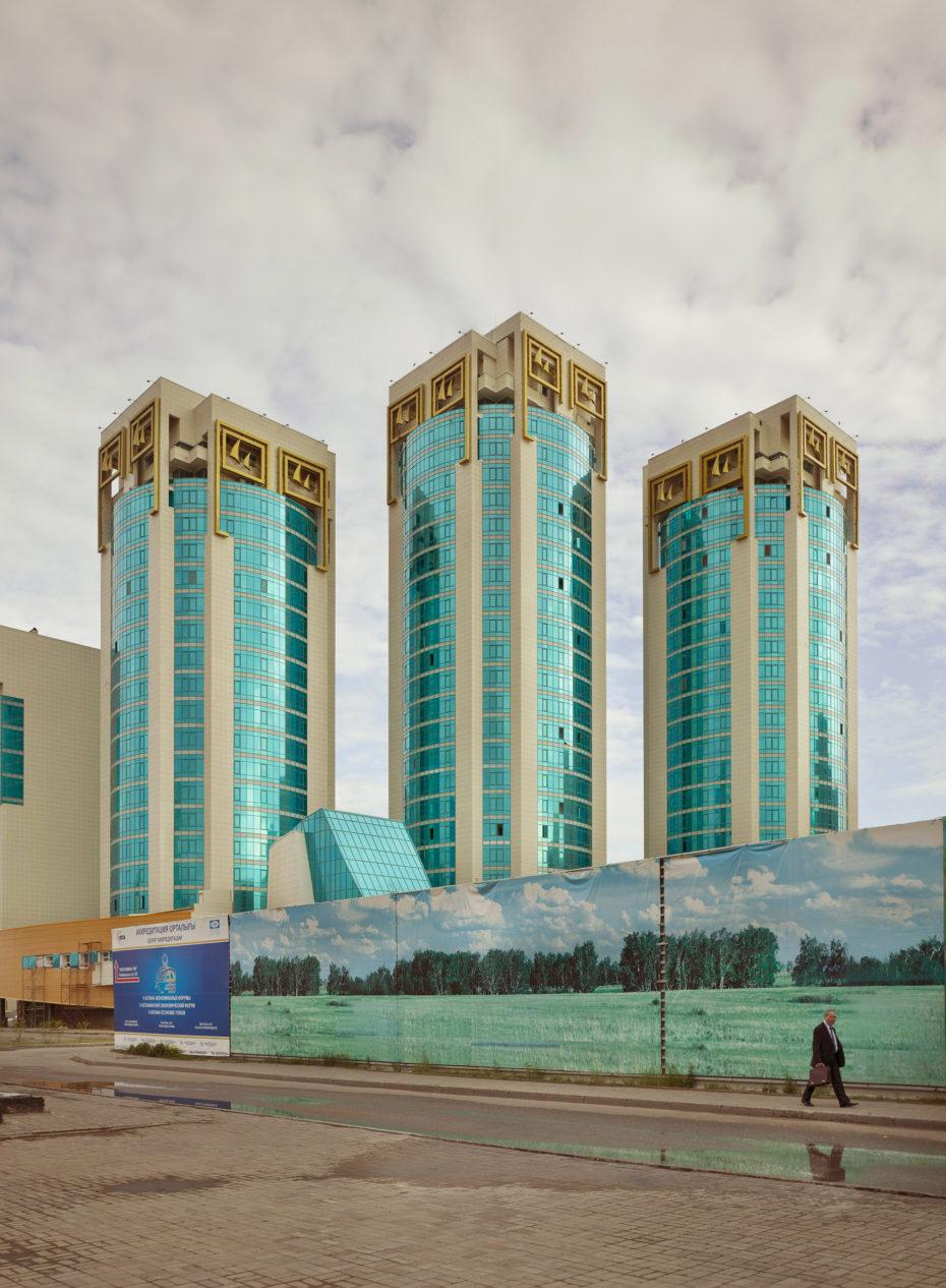 Edificio de apartamentos en Astana, Kazajistán