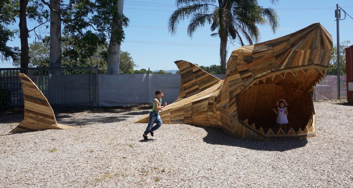 Steve the shark (Gold Coast, Australia)