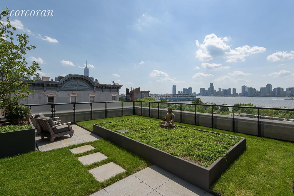 Un jardín de 140 m2
