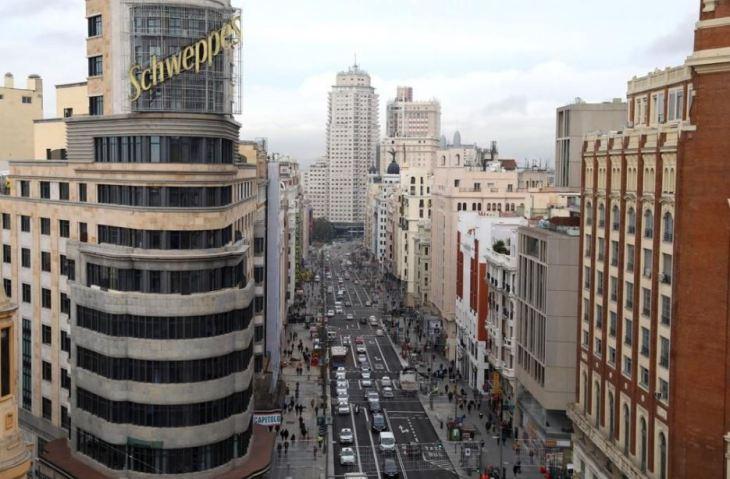 La Gran Vía de Madrid estrena nueva imagen (fotos) — idealista/news