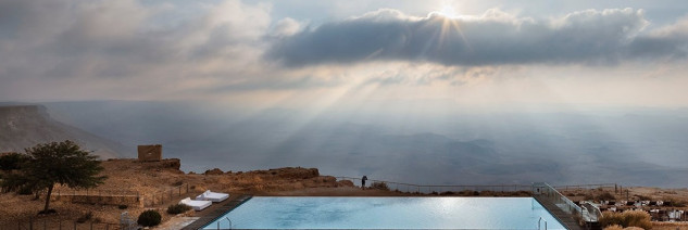 Son las increíbles vistas desde la piscina