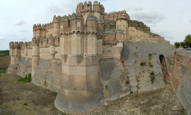 Castillo de Coca en Segovia