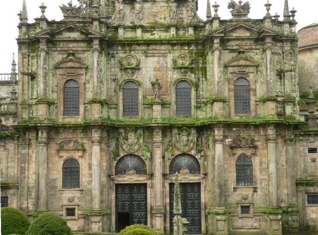 Fachada de la Acibechería de la Catedral de Santiago (España)