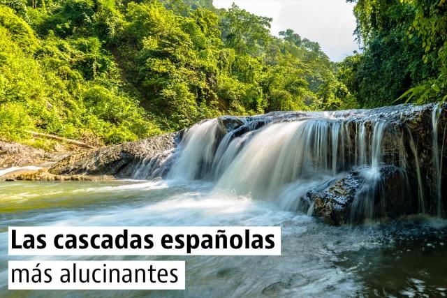 Las cascadas españolas más alucinantes