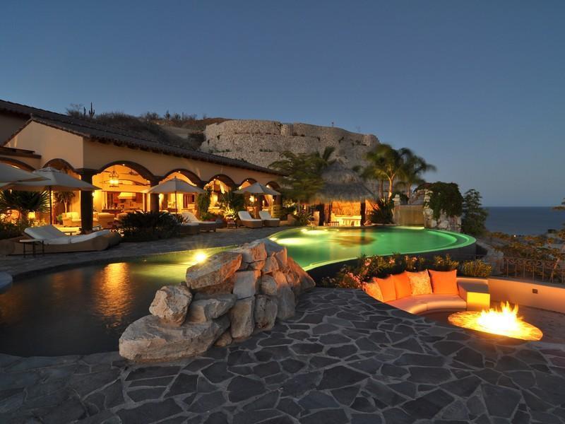 Casa da sogno villa nel deserto messicano con vista sull