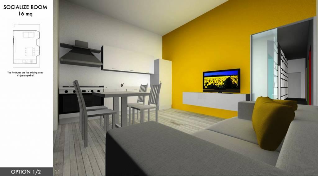 20 idee per arredare un appartamento per studenti