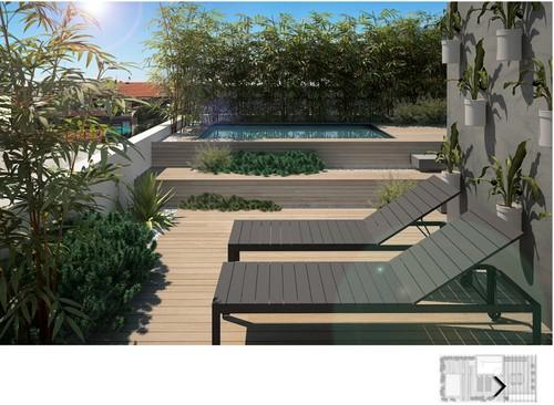 22 idee per realizzare una zona piscina in terrazzo