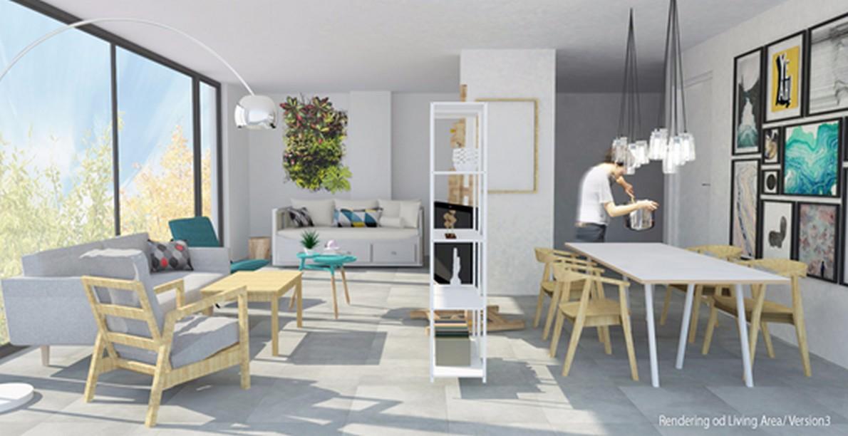 Come ricavare da un unico ambiente una zona giornonotte cucina e bagno Foto  idealistanews