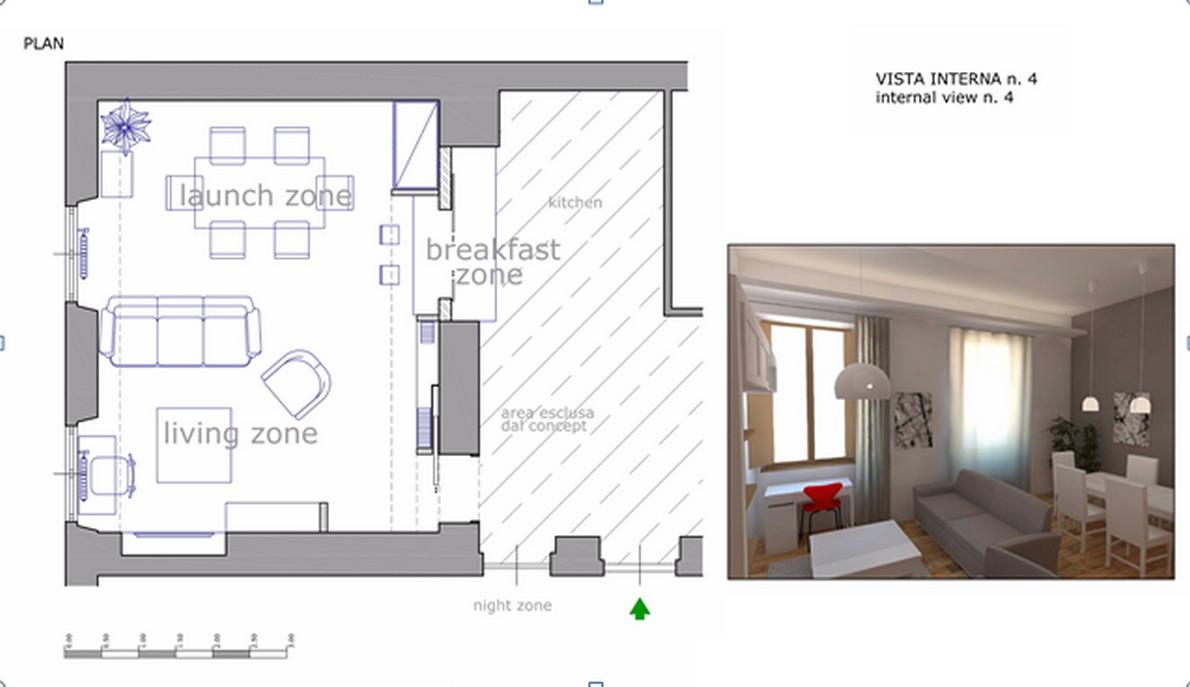 Idee per arredare una zona living a poco prezzo Foto  idealistanews