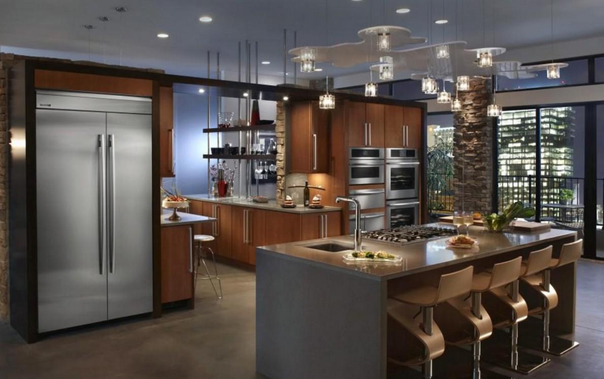 Perch negli Stati Uniti le case hanno grandi cucine con