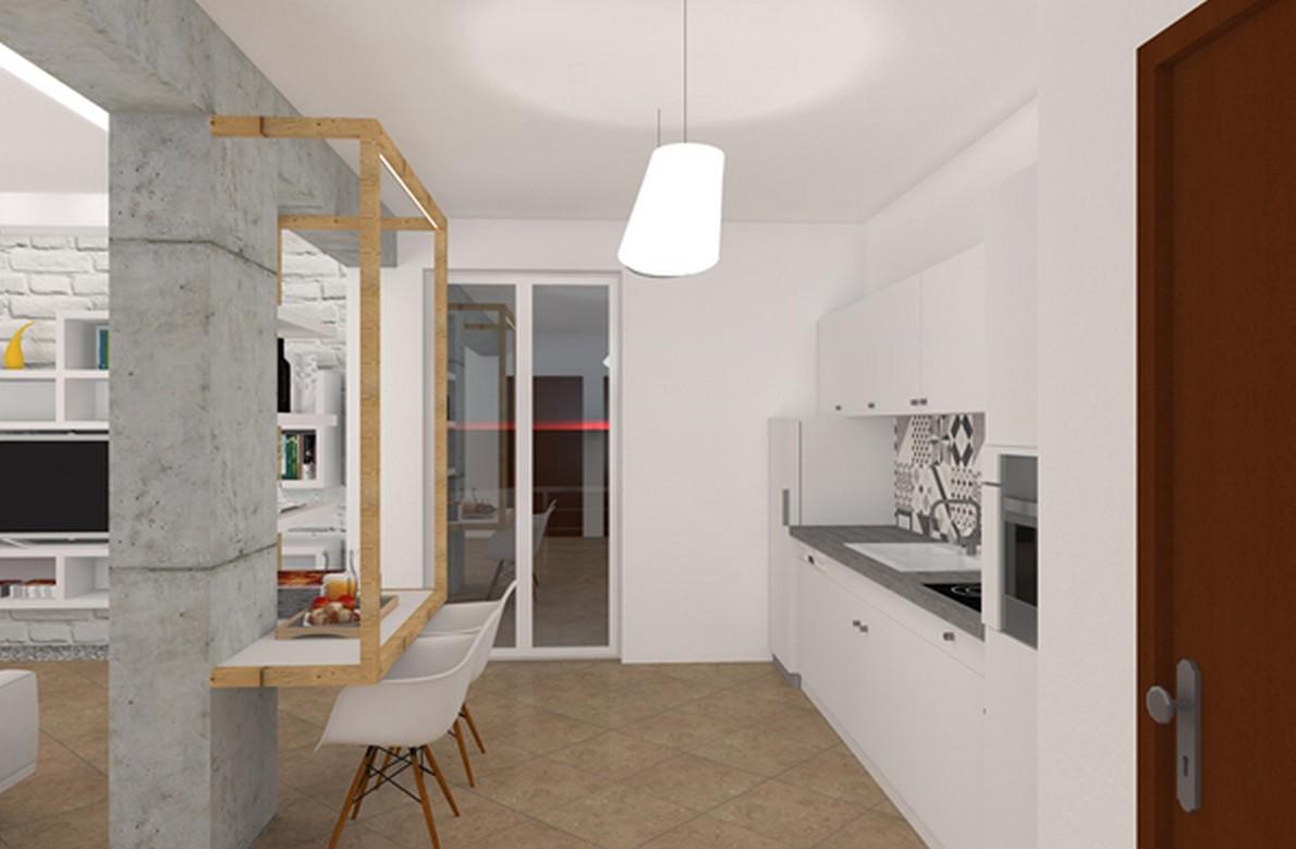 Parola dordine open space alcune interessanti idee per unire salone e cucina  idealistanews