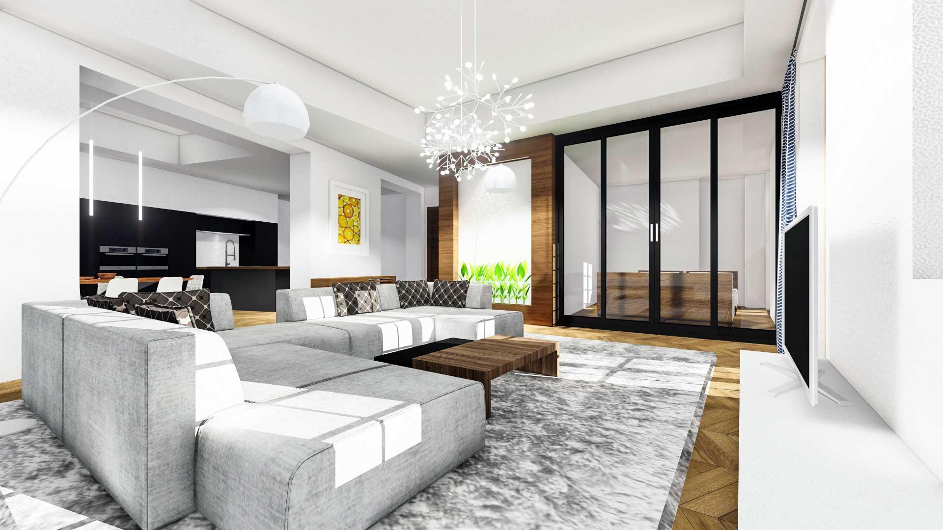 Idee per arredare un soggiorno grande  idealistanews
