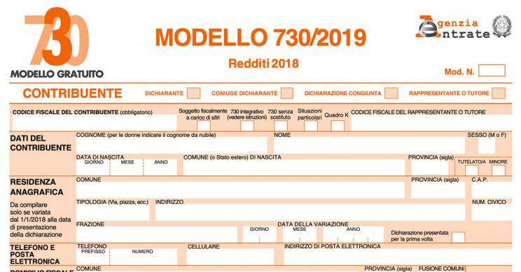 Modello 730 2019 Archivi Il 730 Online By Caf Acli