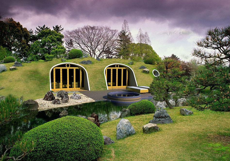 Casas de hobbits que se constroem em apenas trs dias e