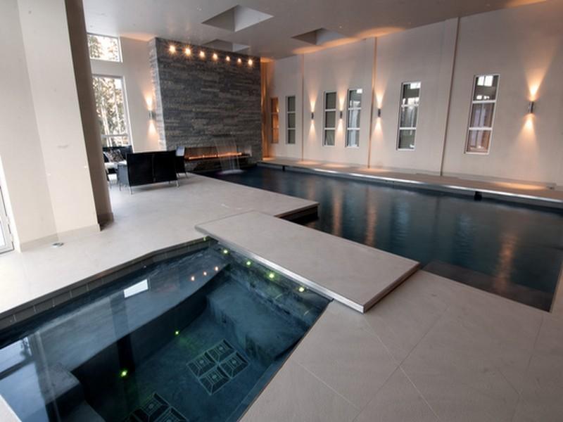 O ltimo dos luxos dos verdadeiramente ricos impressionantes piscinas interiores  idealistanews