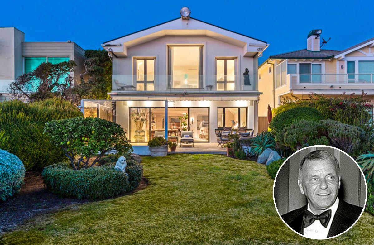 Antiga casa de Frank Sinatra em Malibu est  venda por 11