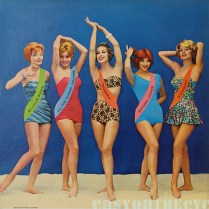 girl in swimsuit 1950