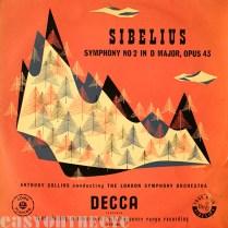 Sibelius / Symphony No. 2 Decca 1954