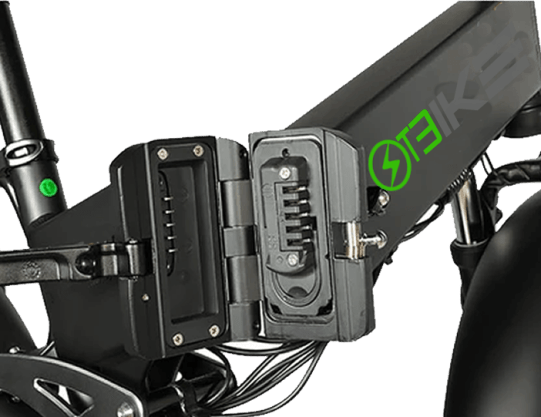 Removable battery ebike