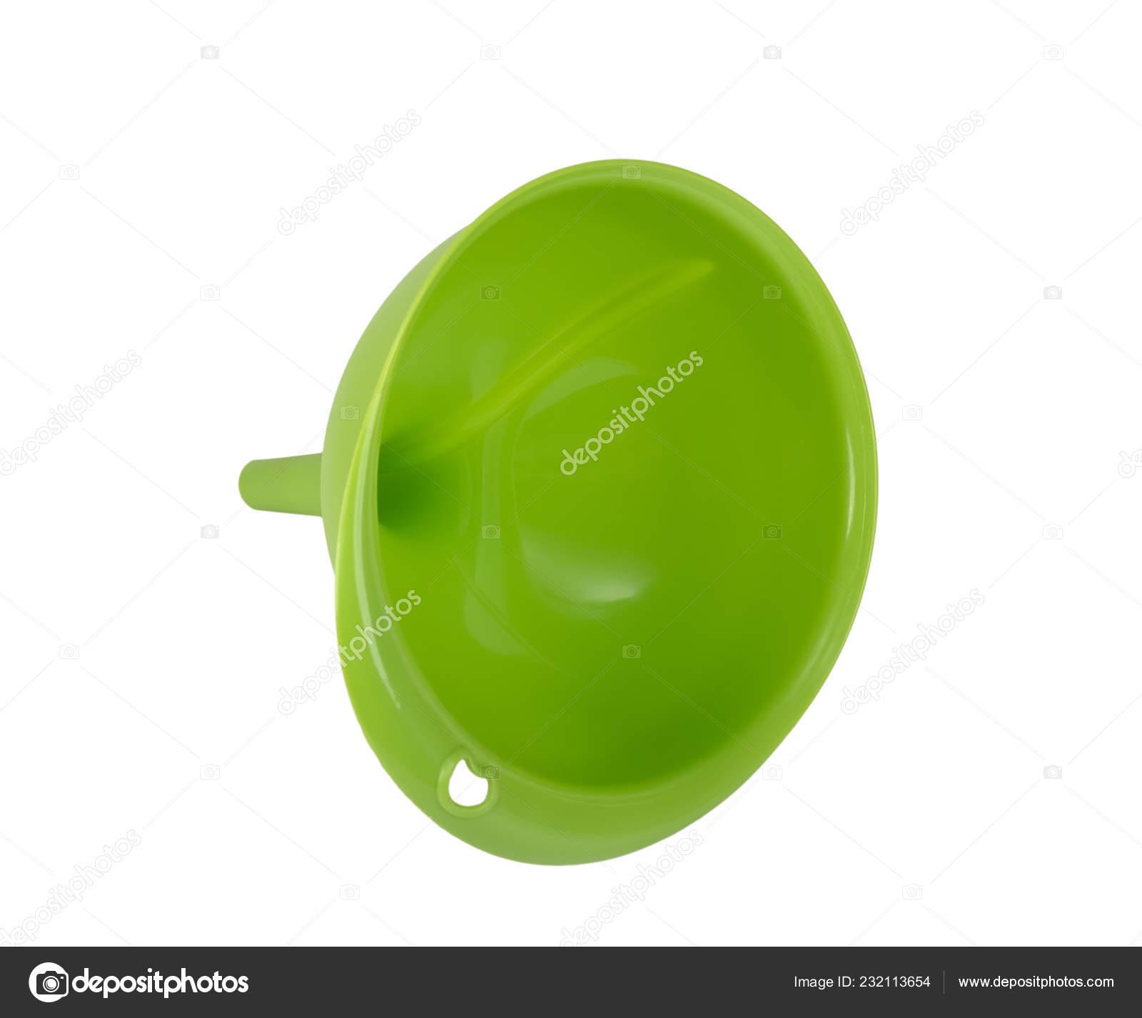 kitchen funnel home depot cabinet hardware 绿色塑料厨房漏斗查出在白色背景 图库照片 c denisds 232113654
