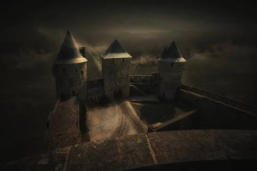 ᐈ Castle fantasy art stock images Royalty Free castle fantasy backgrounds download on Depositphotos®