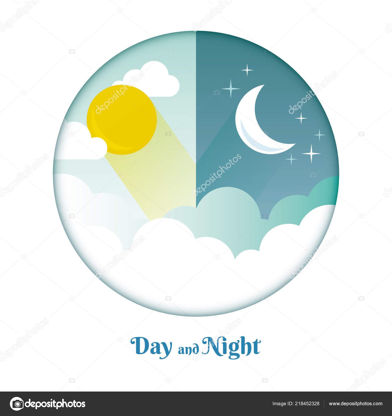 day night layout sun