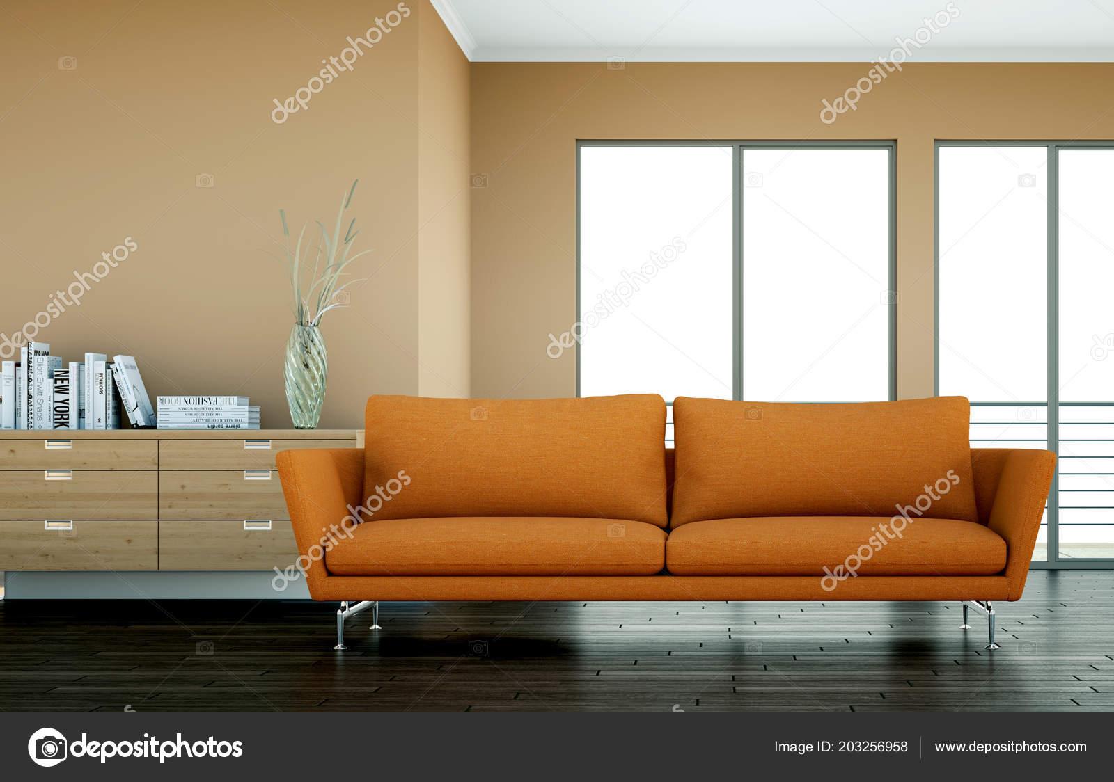Mur De Chambre Orange Meuble Marron Couleur Des Murs Nouveau Table
